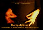 carte postale Manipulations