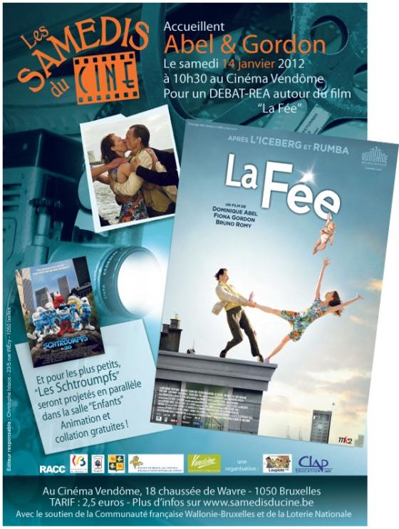 Abel et Gordon , la Fee, Samedis du Ciné, débat-réa