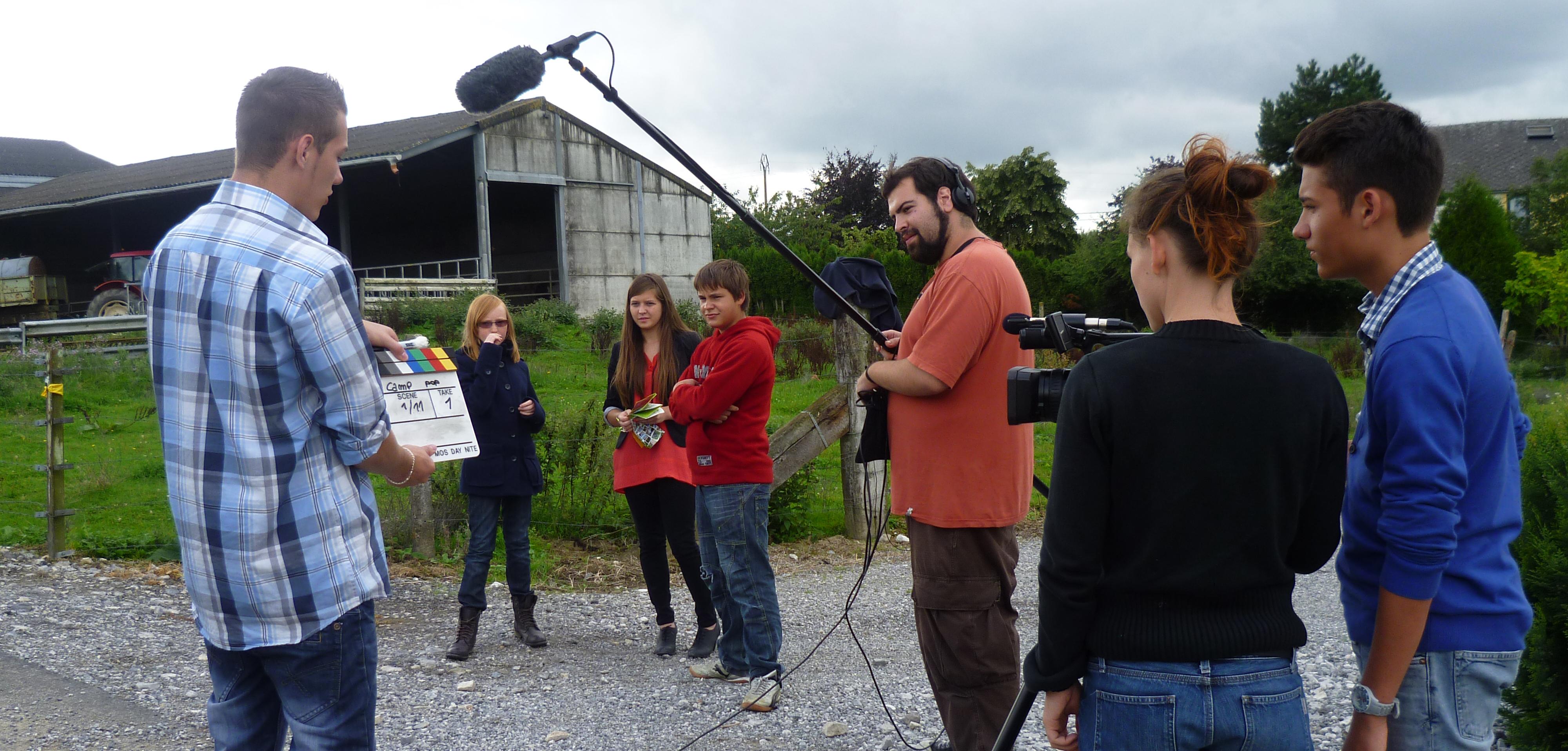 tournage camp