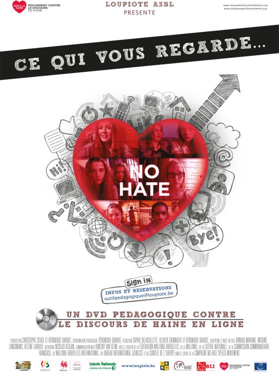 Affiche No hate A3 finale