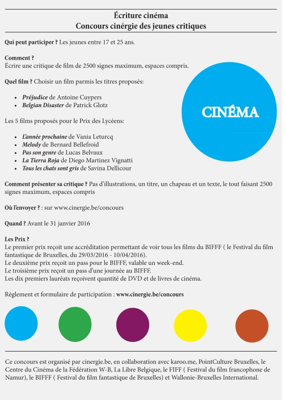 Concours cinergie