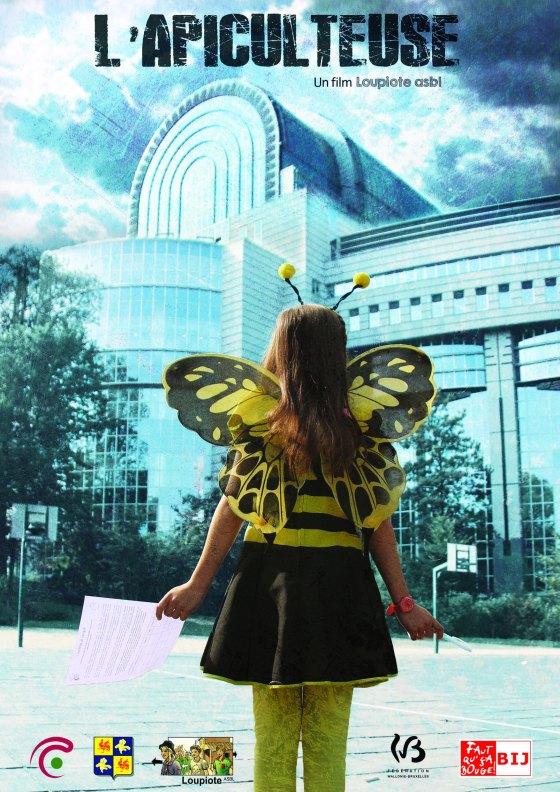 affiche l'apiculteuse A4